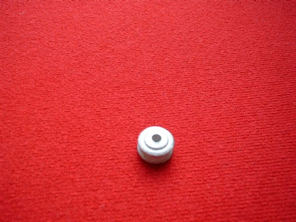 Dinky Toys Post-War 15mm Ridged hubs in White metal [ Each ]